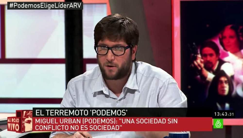 Miguel Urban en ARV