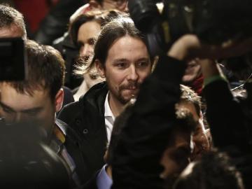 Pablo Iglesias, en el acto de clausura de la Asamblea Ciudadana de Podemos