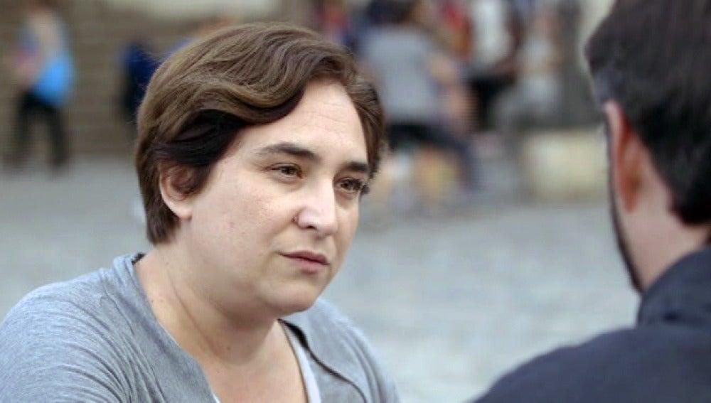 Ada Colau con Jordi Évole
