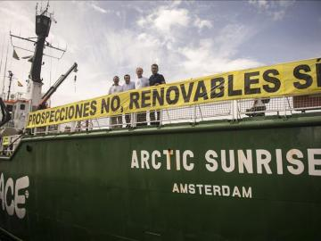 El barco Arctic Sunrise, de Greenpeace (Archivo)