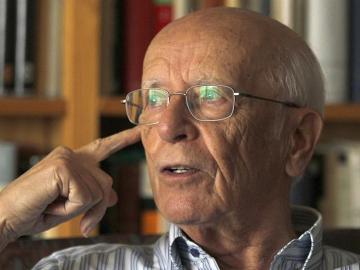 Imagen de archivo del filósofo y humanista Emilio Lledó.