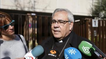 El arzobispo de Granada, Francisco Javier Martínez