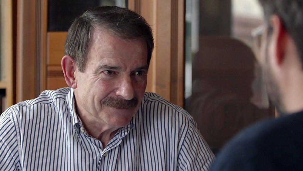 El fundador de IU Gerardo Iglesias