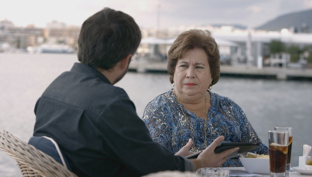 María Luisa Cava de Llano y Jordi Évole en 'Salvados'