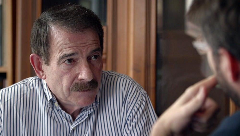 Jordi Évole entrevista en su domicilio asturiano a Gerardo Iglesias