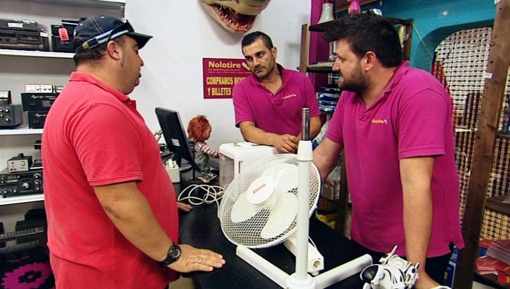 Los Reyes del Empeño, Nolotires, ventilador