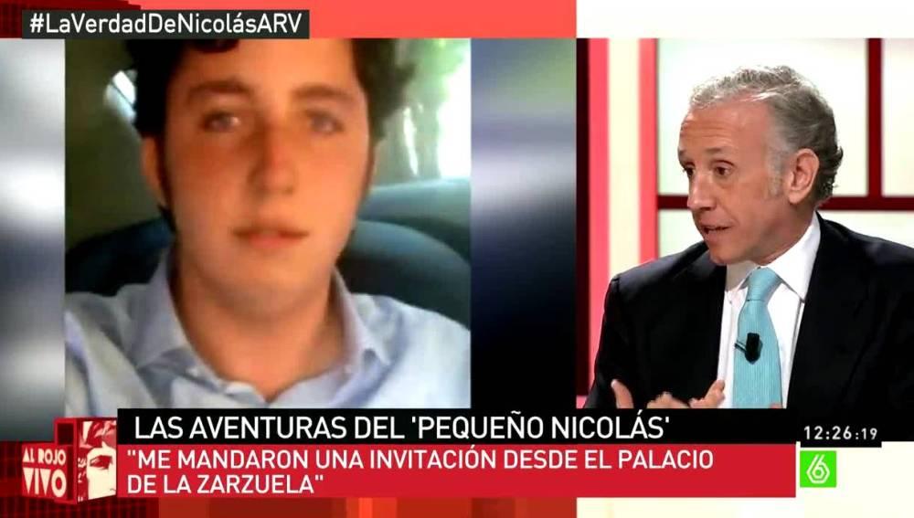 Eduardo Inda habla sobre Nicolás