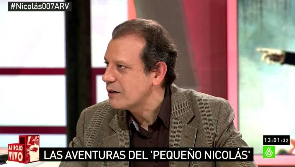 Raúl Rueda en ARV