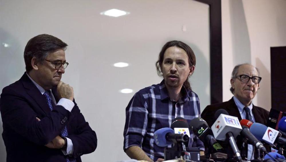 Pablo Iglesias presenta el programa económico de Podemos