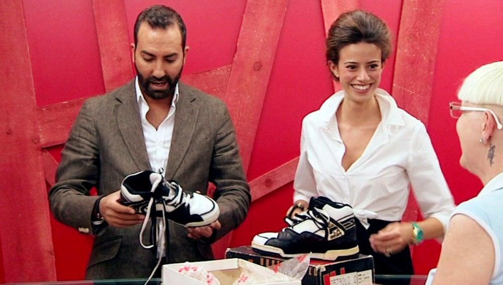 Las falsas zapatillas de Michael Jackson