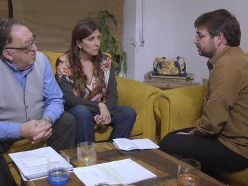 Francisco Cardona y Curra Ripollés charlan con Jordi Évole en Salvados