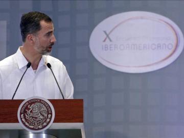 Felipe VI en la Cumbre Iberoamericana de Veracruz