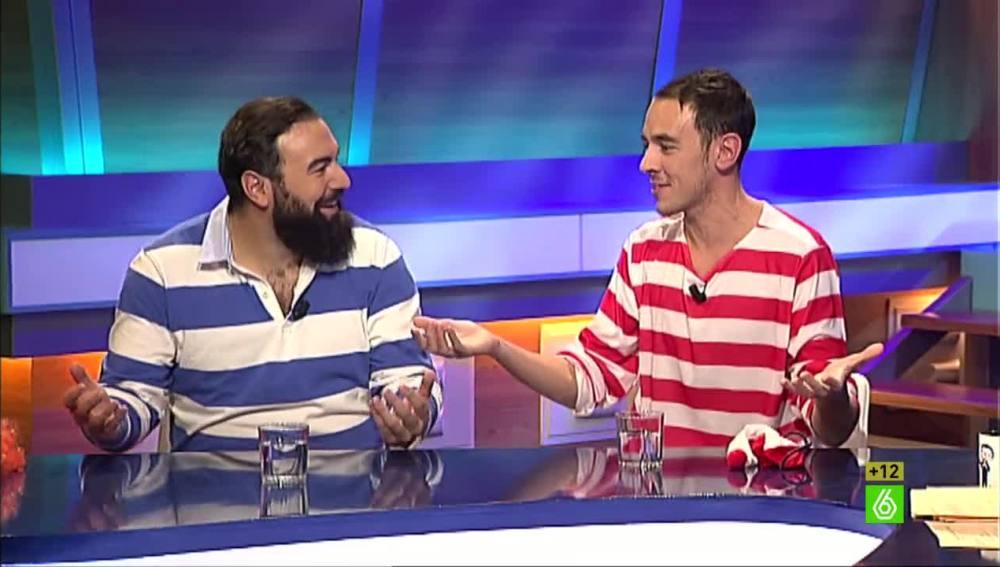 Alberto Casado y Rober Bodegas