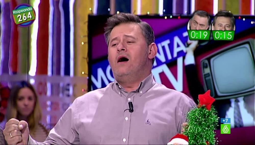 Miki Nadal canta un gol en Zapeando