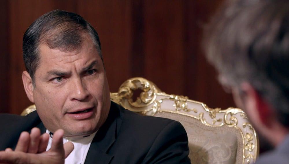 Rafael Correa, en Salvados