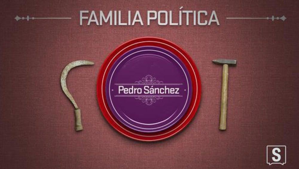 Pedro Sánchez, en 'Familia política'