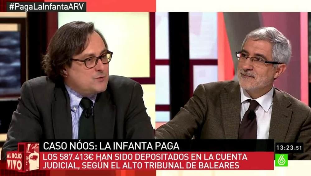 Marhuenda y Gaspar Llamazares
