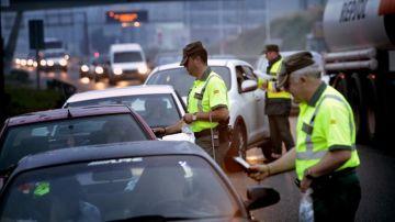 Vigilancia de la DGT en las carreteras
