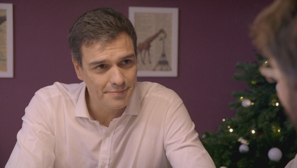 Pedro Sánchez habla sobre Podemos en 'Salvados'