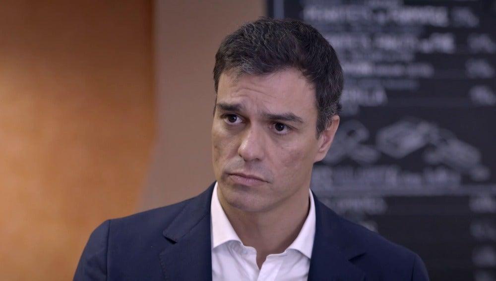 Pedro Sánchez en Salvados