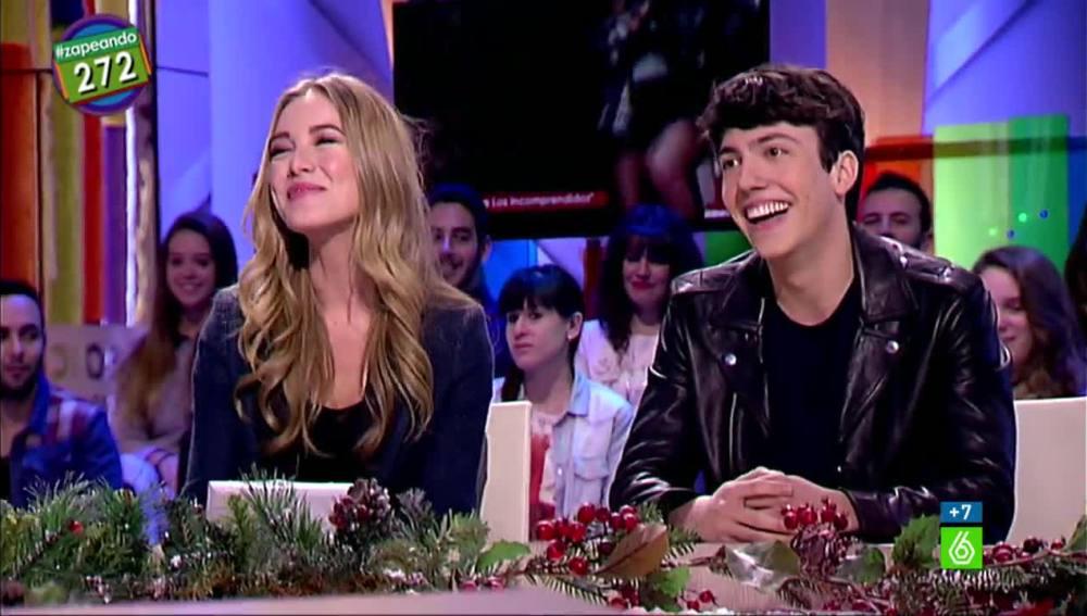 Charlotte Vega y Jorge Clemente