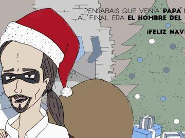 Pablo Iglesias, ¿Papá Noel o el hombre del saco?