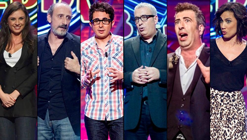 Monologuistas de El Club de la Comedia en Nochebuena