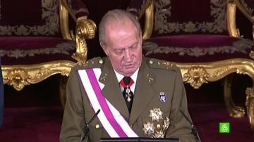 Último discurso del rey Juan Carlos en la pascua militar