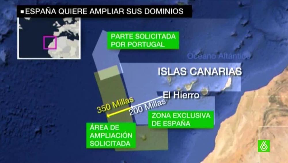 España quiere ampliar 'sus dominios'