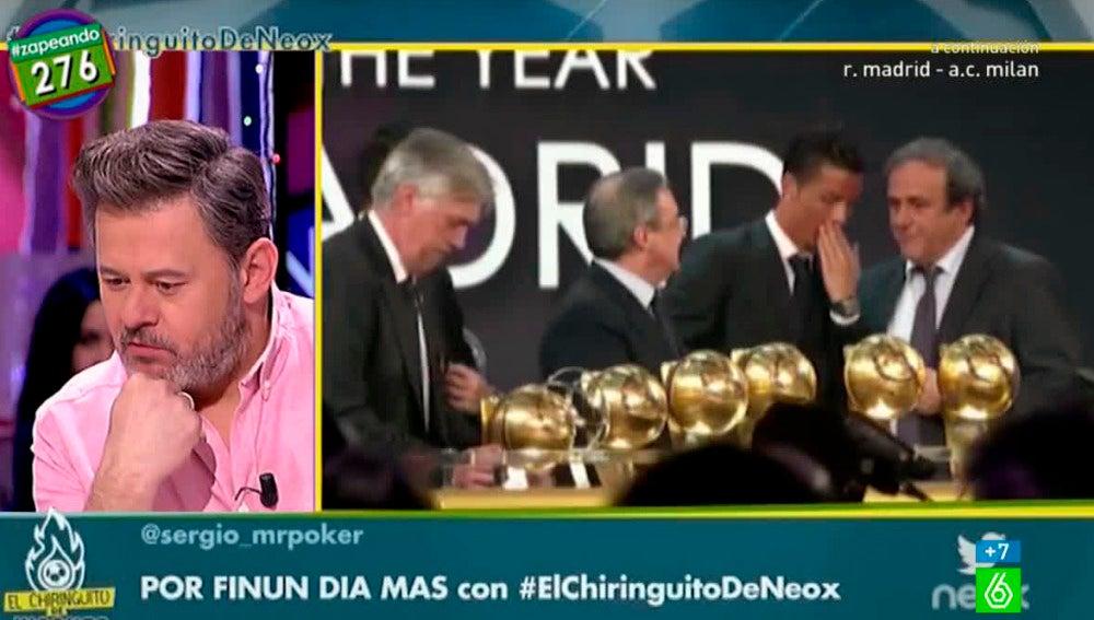 Miki Nadal dobla a Cristiano Ronaldo
