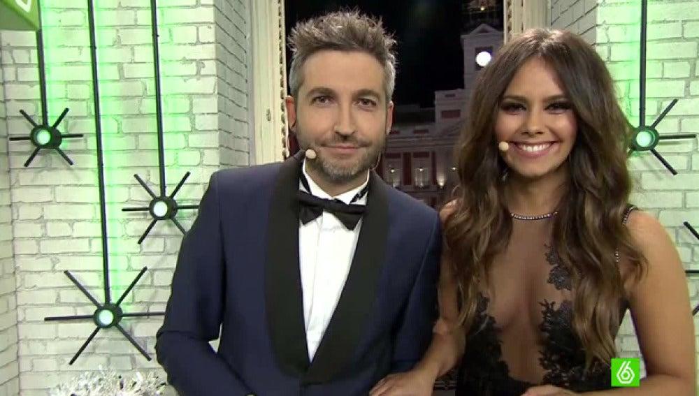 Cristina Pedroche y Frank Blanco en las campanadas