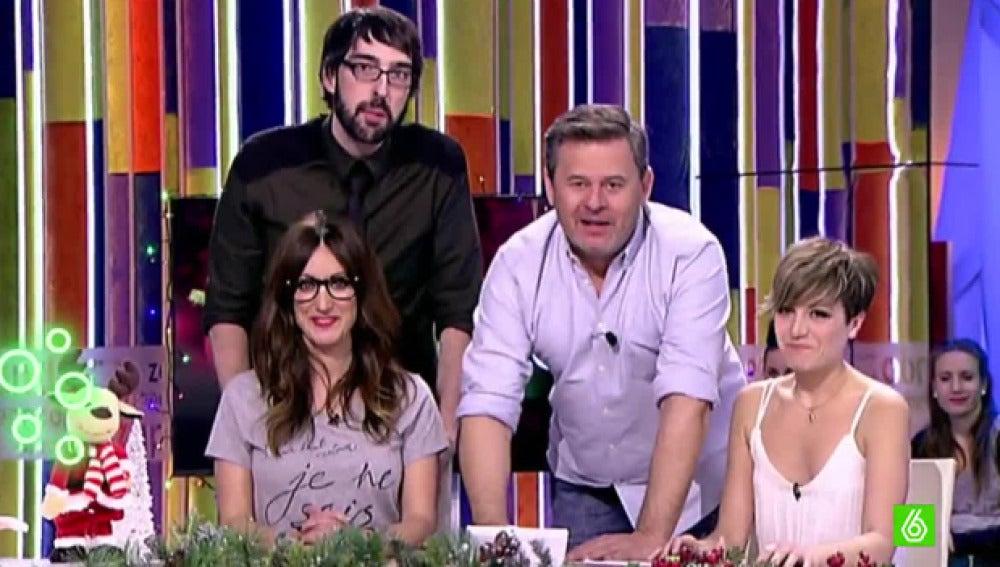 'Zapeando' manda un saludo a Frank Blanco y Cristina Pedroche