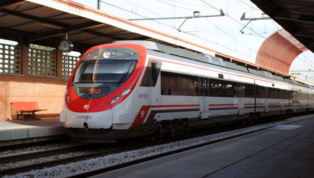 Imagen de archivo de un tren de Cercanías de Madrid