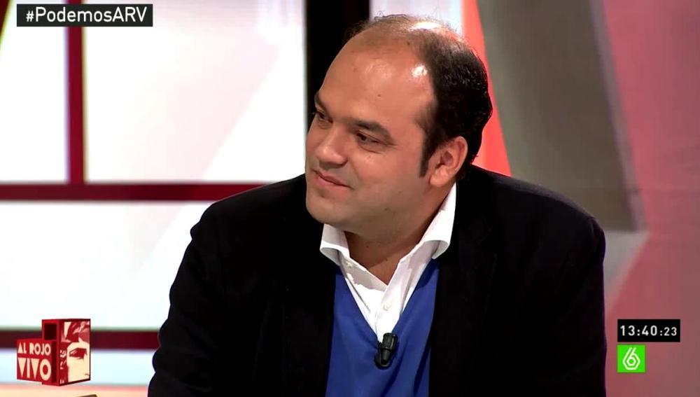 José Carlos Díez en ARV