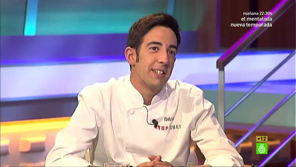 David García, ganador de Top Chef
