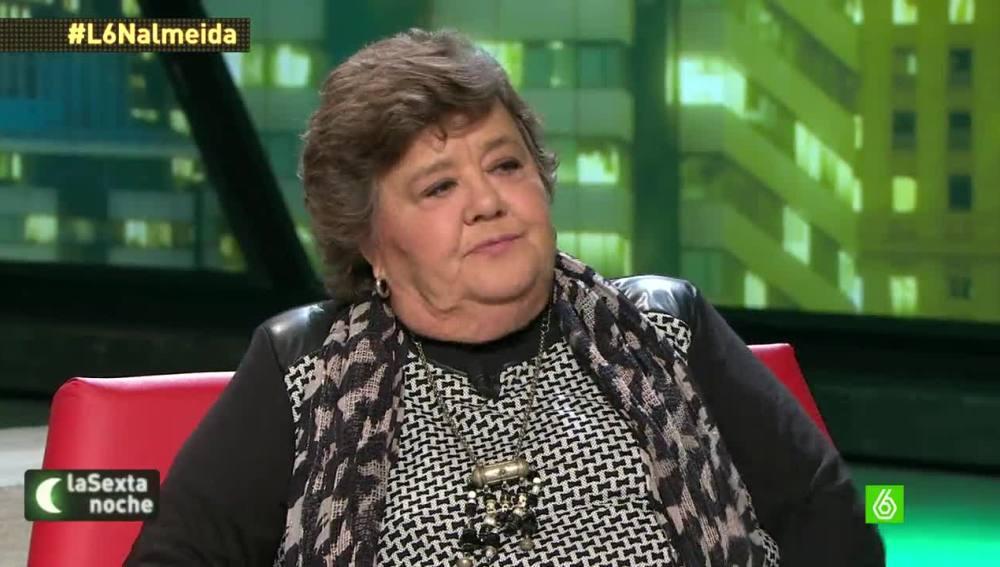 """Cristina Almeida: """"Con lo que tienen que fagocitar los de Podemos, que no empiecen por IU"""""""