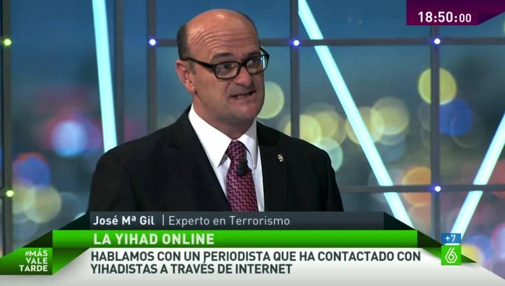 José María Gil en MVT