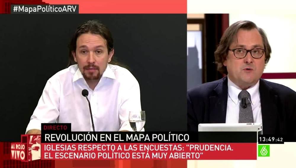 Francisco Marhuenda, sobre Iglesias