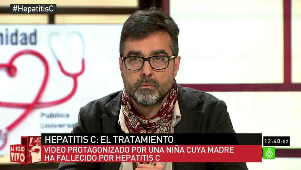 Antonio, enfermo de Hepatitis C