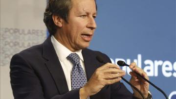 El vicesecretario de Organización del PP, Carlos Floriano.