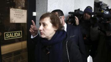 Teresa Romero entra a los juzgados de primera instancia de Alcorcón