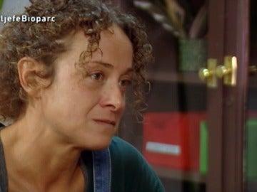 El cara a cara entre Raquel y 'El jefe infiltrado'