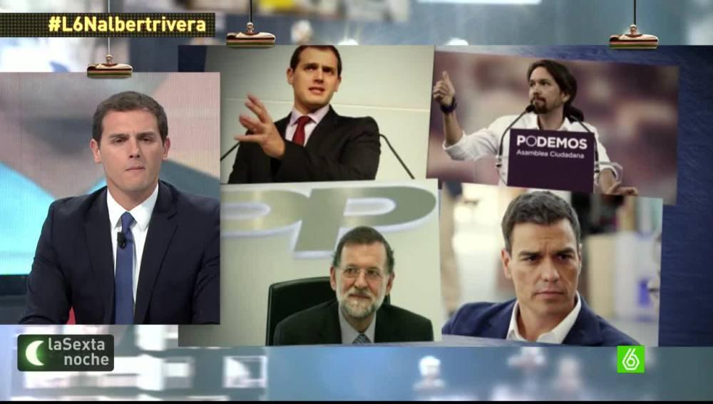 """Albert Rivera: """"Vamos a un modelo de cuatro partidos grandes a nivel nacional"""""""