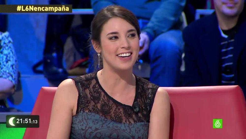 """Irene Montero a Eduardo Inda: """"No somos mucho de tu agrado, pero la máquina de votos no para de subir cada vez que hablas"""""""