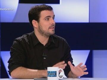 Alberto Garzón en 'El Objetivo'