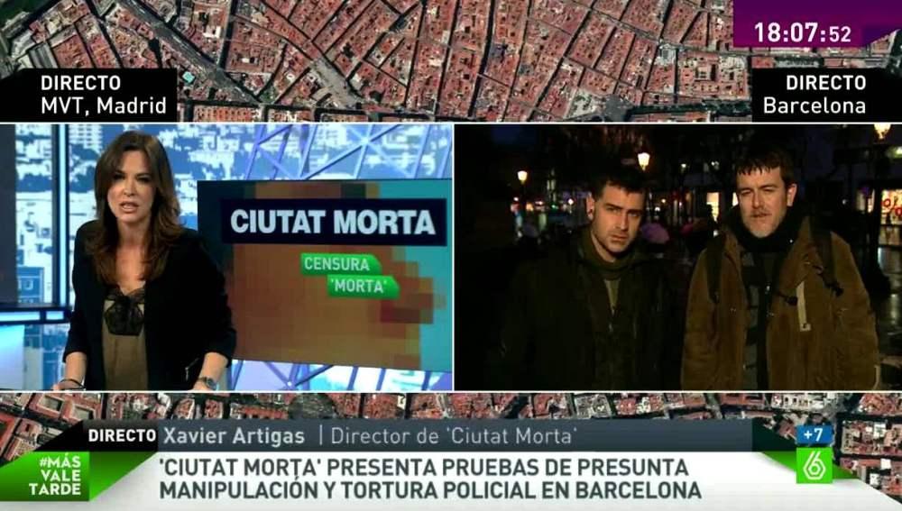 Xavier Artigas y Xapo Ortega, directores de Ciutat Morta