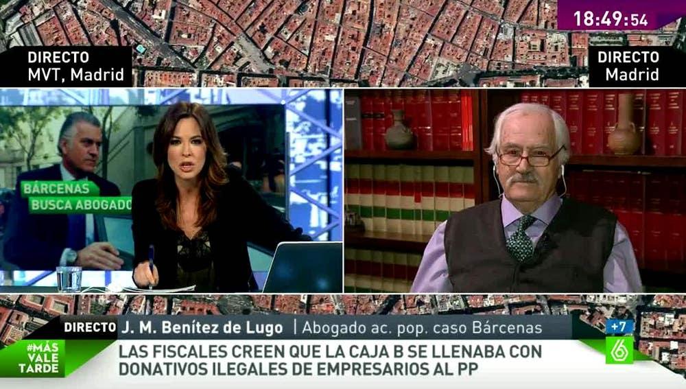 Benítez de Lugo en MVT