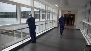 Imagen de archivo del pasillo de un hospital