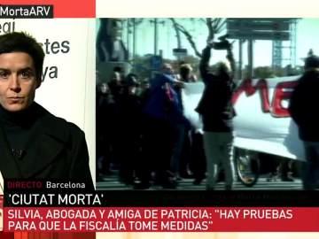 Silvia García, abogada y amiga de Patricia