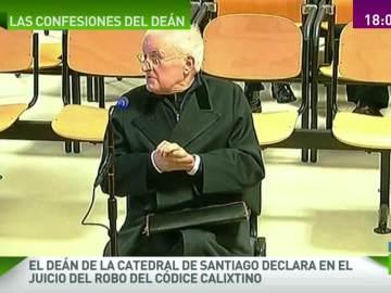 José María Díaz, deán de la Catedral de Santiago